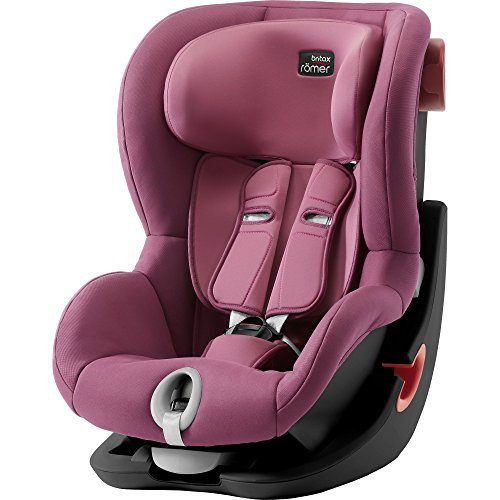 Britax Römer Siège-auto 9-18 kg, KING II BLACK SERIES, Ceinturé Groupe 1, Wine Rose