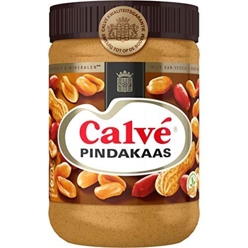 3 X Calve Calvé Pindakaas - Erdnußbutter - 650g