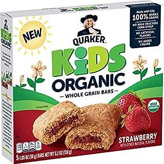 Quaker Kids Strawberry Organic Bars (Pack of 2)