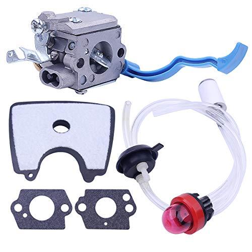 545081811 545112101 Carburador con Linea filtro aria carburante Kit para Husqvarna 125B 125BX 125BVX Piezas de soplador de hojas para Zama C1Q-W37 581798001