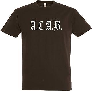 Herren T-Shirt AC/AB S bis 5XL