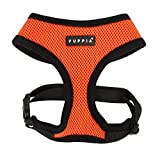 Puppia Soft Dog Harness, Orange, Small by Puppia