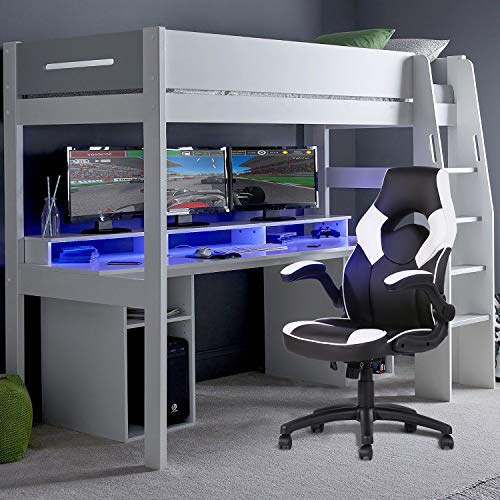 silla gamer blanca fabricante FurnitureR