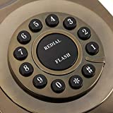Weikeya Antikes Telefon, klar expandierbares schnurloses Telefon WX-3123# aus...