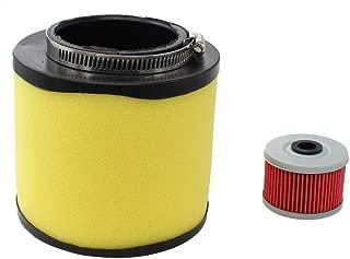 Air Filter & Oil Filter Tune-Up For Honda Foreman 400 450 TRX400 TRX450 FourTrax Foreman 400 TRX400 Rancher 350 TRX350 ATV 17254-HN5-670
