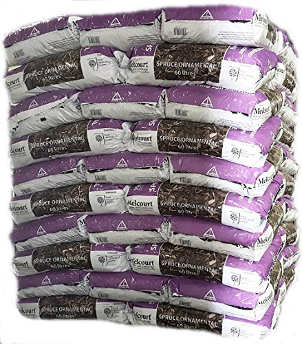 Melcourts Spruce Ornamanetal Bark Mulch - new 60l pack size!