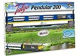 Pequetren - 975, Trenino Elettrico Talgo Pendular 200, con Pista da 5,8 m