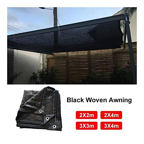 SSGLOVELIN 3 * 4 M Bloqueador Solar Sombra de Pantalla toldo Malla Malla Sombra Bloqueador Solar Panel de Pantalla de Tela de Efecto Invernadero de Plantas de jardín UV (Size : 3 * 4M)
