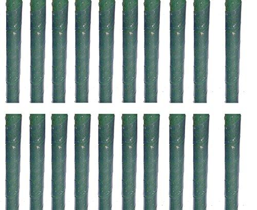 EXCOLO 20 Baumschutz Manschetten Stamm Schutz Bäume Verbiss Fraßschäden Baum Rinden Schutz. Transparent - Daher kaum zu sehen.