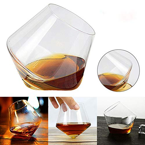 Wodeni Pack van 6 400 ml wijnglas whiskey glazen drankdoffer rum wijnglas