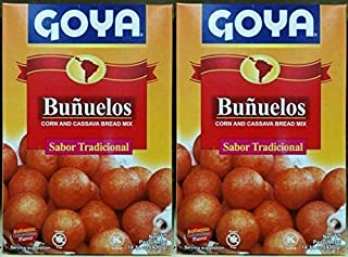 Goya Buñuelos 400g | Corn and Cassava Bread Mix 14.11oz (PACK OF 02)