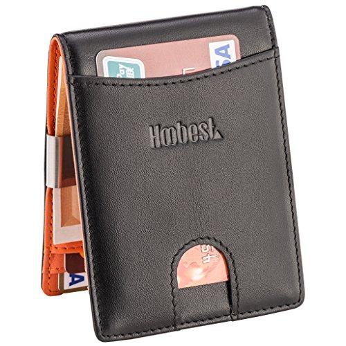 RFID SIim Wallet with Money Clip RFID Blocking Wallet | Credit Card Holder...