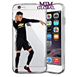 MIM Global Football Soccer Etuis Coque Case Cover Compatible pour Tous iPhone (iPhone 7/8, Milly Rock)