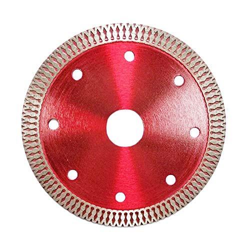 Xinqiankeji 2 unids 110 mm Diamante de Diamante de la Hoja de Sierra Redonda para la cerámica de mármol de hormigón de la baldosa de la Porcelana Discos de Corte de Piedra