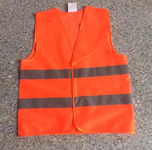 Reflektorweste Warnweste Reflektierendeweste XL XXL XXXL Arbeitskleidung Hohe Sichtbarkeit Tag Nachtlaufzyklus Warnung Erwachsene Sicherheitsweste Großhandel, Orange, XXL