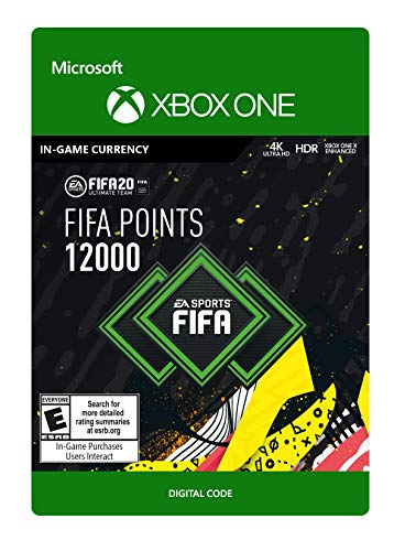 FIFA 20 Ultimate Team Points 12000 - [Xbox One Digital Code]