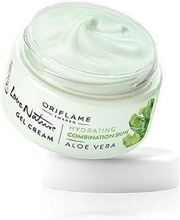 Oriflame Love Nature Gel Cream, Aloe Vera- Normal Skin, 50G