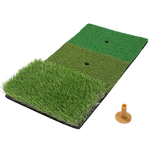 BESPORTBLE Golfübungsmatte Tragbare Schaukelmatte Schlagmatte Und Fahrunterlage Outdoor-Indoor-Trainingshilfen (30X60cm)