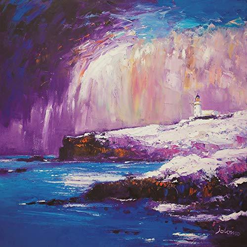 Aberdeenshire - Faro, diseño de nieve