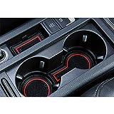 LFOTPP Golf 7 Facelift R GTD GTI GTE Golf Variant Tapis en caoutchouc anti-dérapant Tapis Car Styling Intérieur Rouge