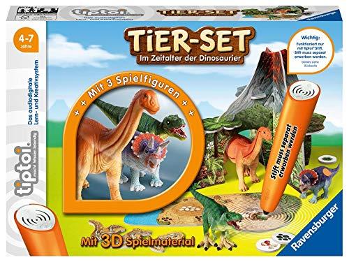 tiptoi® Tier-Set Im Zeitalter der Dinosaurier: Interaktive Spielwelt für die tiptoi® Tiere Tyrannosaurus, Triceratops und Camarasaurus
