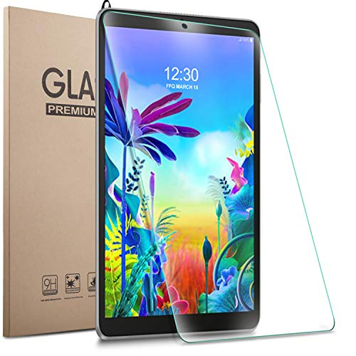 Gylint LG G Pad 5 10.1 Screen Protector Glass - Tempered Glass 9H Hardness Scratch Resistant Bubble Free Tempered Glass Screen Protector for LG G Pad 5 10.1 Inches Tablet