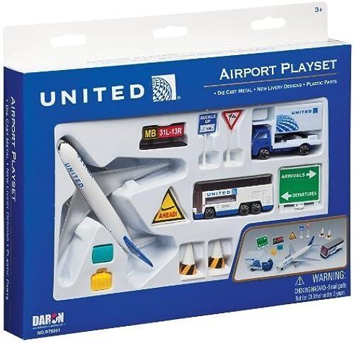 excelentes precios Daron United Airlines Airport Playset Playset Playset by Daron  Web oficial