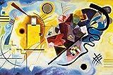 1art1 Wassily Kandinsky - Gelb Rot Blau, 1925 XXL Poster
