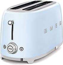 SMEG Pastel Blue 4 slice toaster, 50's Retro style, Aesthetic TSF02PBUK