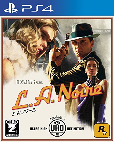 Rockstar L A NOIRE SONY PS4 PLAYSTATION 4 JAPANESE Version [video game]