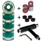 FunTomia 4X Miniboard/Skateboard Rollen 59x45mm inkl. T-Tool und...
