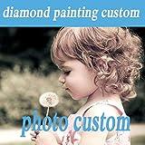 weiyou Fotos Personalizadas para Hacer tu Propia Pintura de Diamantes de imitación Daimond 5D DIY Pintura Bordado Punto de Cruz Pegado