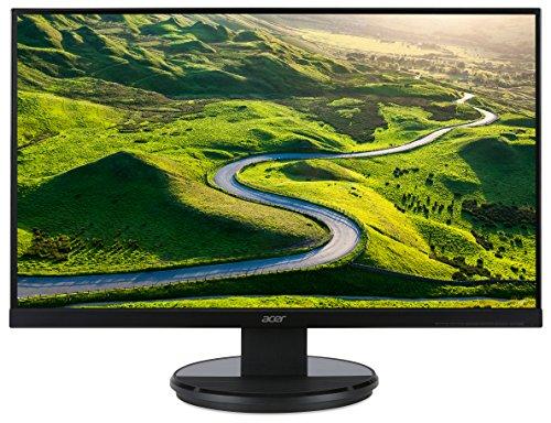 Acer K272Hlebd Monitor, 68,6cm (27Zoll),Helligkeit von 300cd/m²,Reaktionszeit: 4ms, Auflösung: 1920x1080Pixel,Schwarz