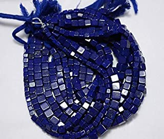Jewel Beads Natural Beautiful jewellery Full Strand Lapis Lazuli Box Shape Beads, Lapis Plain Box Shape Briolettes, Gemstone For Jewelry, 5mm Approx, 9.5 InchCode:- JBB-5176