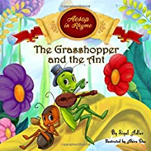 The Grasshopper and the Ant: Aesop's Fables in  Verses (Children's story picture books)