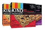 KIND Healthy Grains Granola Bars, Variety Pack, Dark Chocolate Chunk, Peanut Butter Dark Chocolate, Maple Pumpkin Seeds with Sea Salt, Gluten Free, 1.2 oz, 15 Count