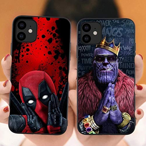 For Iphone Se 5 5s 3 Tpu Phone Case For Iphone 11 Pro 5.8 2019 Marvel Venom Iron Man Spider-man Deadpool Soft Cover For Iphone 11 Pro Max 6.1 6.5 Inch