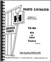 Parts Manual International Farmall 404 2404 Tractor