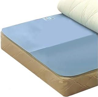 ふとん 除湿 シート シングルサイズ 90×180cm ブルー 吸湿センサー 付 布団の下に敷くだけ 湿気をグングン吸湿 繰り返し使えるから経済的 しっかり吸湿したらセンサーがお知らせ オールシーズンご使用いただけます