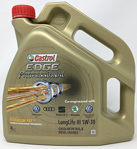 Castrol CAEP5304 Edge Professional LongLife III 5W-30 Motoröl, 4Liter