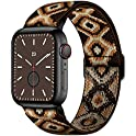 Amanecer Stretchable Nylon Watch Bands for Apple Watch Series