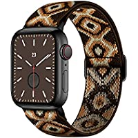 Deals on AMANECER Stretchable Nylon Watch Bands Compatible w/Apple Watch