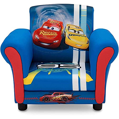 Delta Children Upholstered Chair, Disney/Pixar Cars
