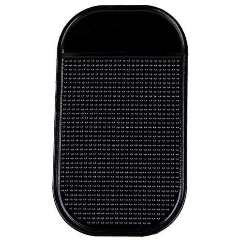 Rubber CAR Dash Key Non Slip MAT-Black