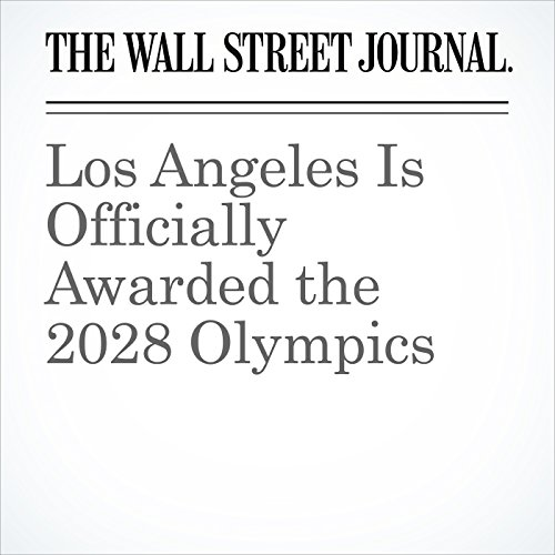 Los Angeles Is Officially Awarded the 2028 Olympics copertina