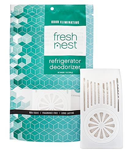 Fresh Nest Refrigerator Deodorizer - Fridge and Freezer Odor Eliminator