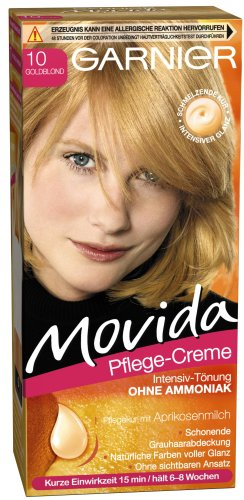 Garnier Movida Haarfarbe Intensiv-Tönung, 10 Goldblond