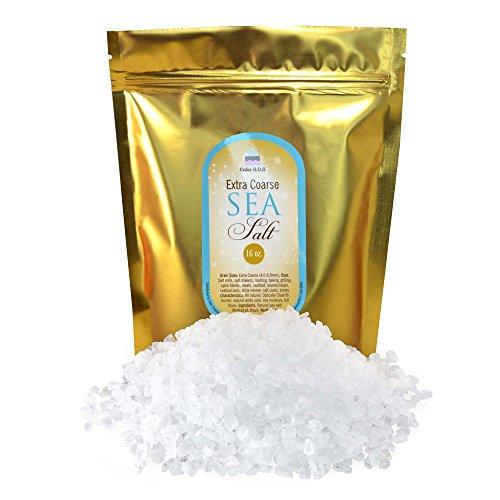 Extra Coarse Sea Salt - 1 lb. Bag