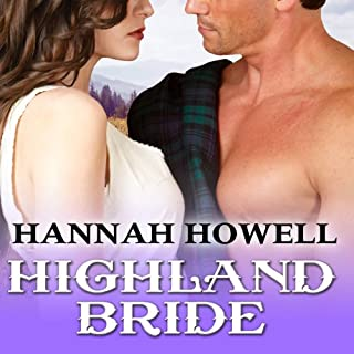 Highland Bride audiobook cover art