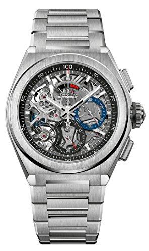 Zenith Mens Defy El Primero 21 44mm titanio esqueleto reloj